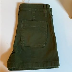 Madewell Dark Green Emmet Shorts size 27